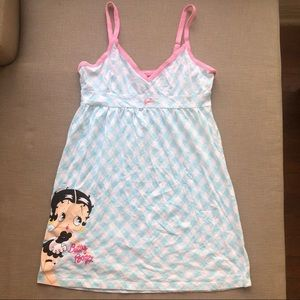 Betty Boop Sleepwear nightie gown pajamas